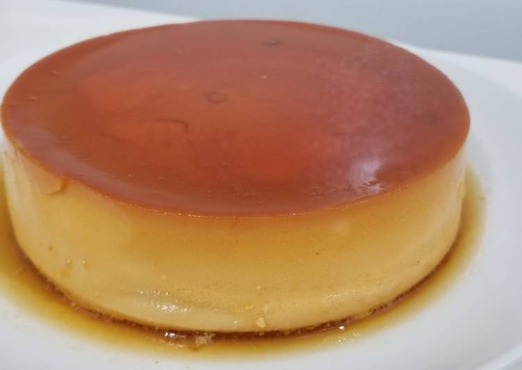 Cheese caramel custard - Flan de queso