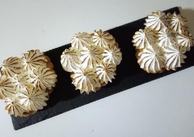 Tartelettes au citron meringuées 🍋