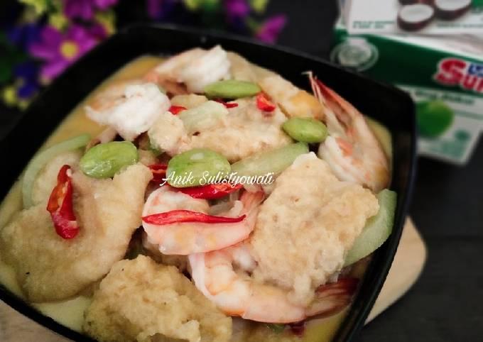 sambal goreng rambak udang bumbu iris - resepenakbgt.com