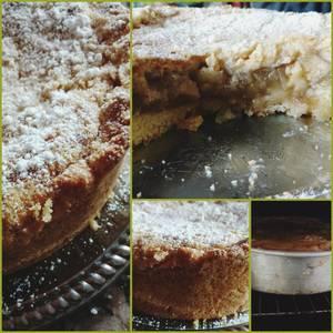 Torta alemana de manzanas