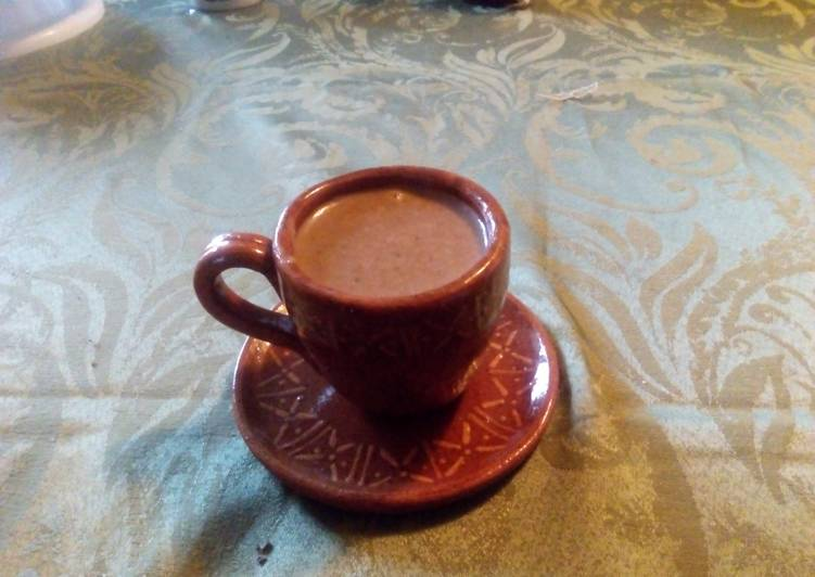Atole De Avena Con Chocolate Receta De Eric Muñoz Cookpad