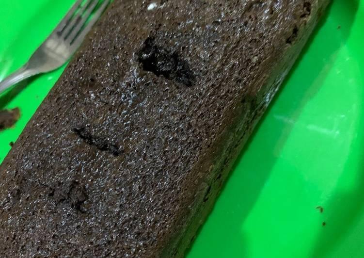 Simple Brownies (no mixer no oven)