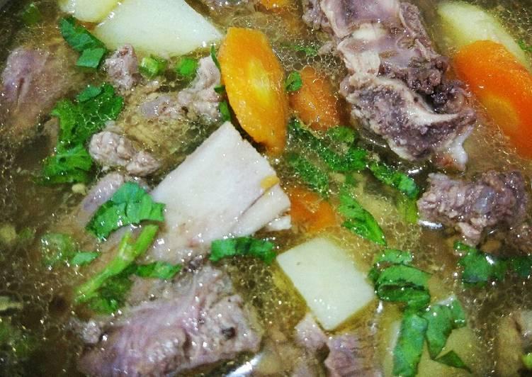 Resep Sop Daging Oleh Fauziah Nur Cookpad