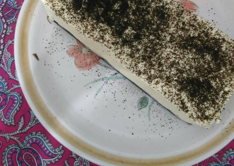 #kamismanis - Cheesecake Oreo tanpa cheese cream (nobake) - cookandrecipe.com