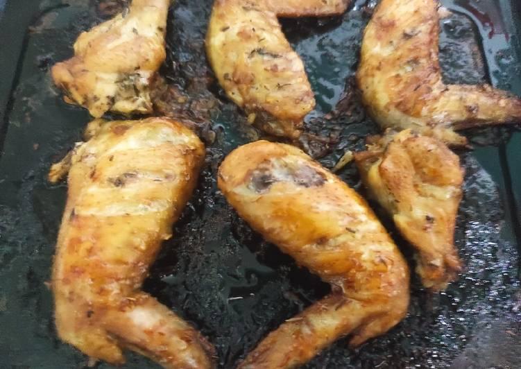 Sayap ayam panggang oven - cookandrecipe.com