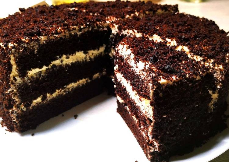 How To Make Chocolate Cake With Step By Step Instructions | Most Satisfying Chocolate Cake Ideas