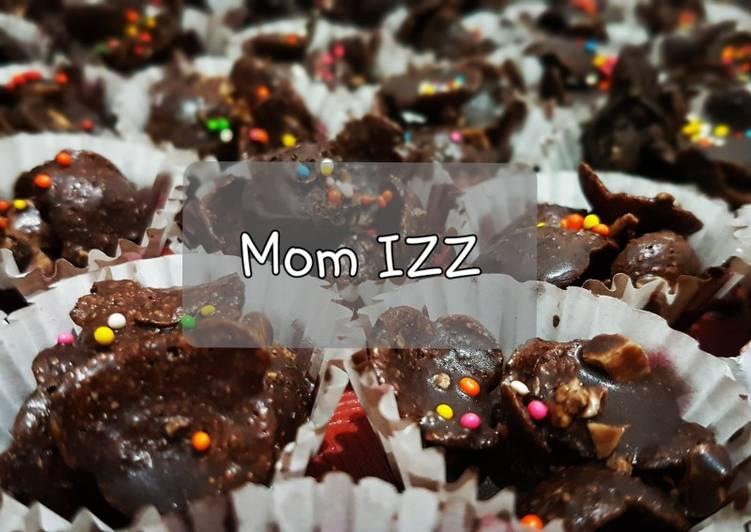 7. Koko Krunch Coklat Kacang Mede Cookies