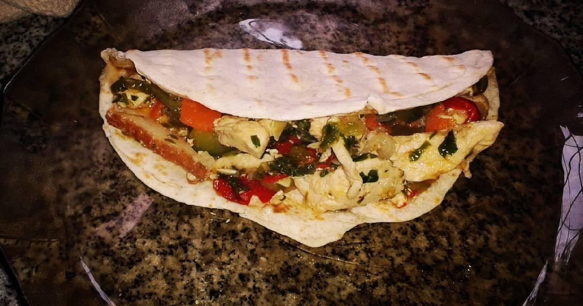 La calorias a pollo verduras plancha con