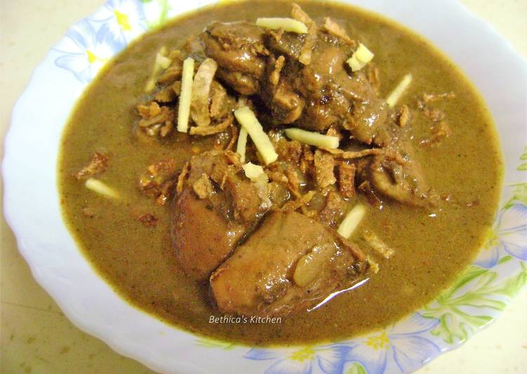 The Best Soft and Chewy Dinner Easy Speedy Chicken Nihari