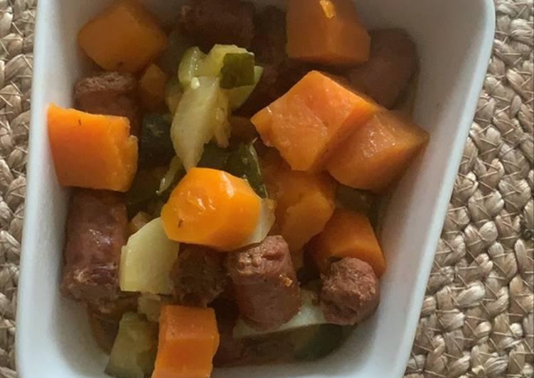 Poêlée de légumes aux merguez au Cookeo #cuisinonspourelles