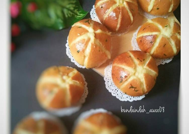 Korean Garlic Bread (versi tanpa Cream Cheese)