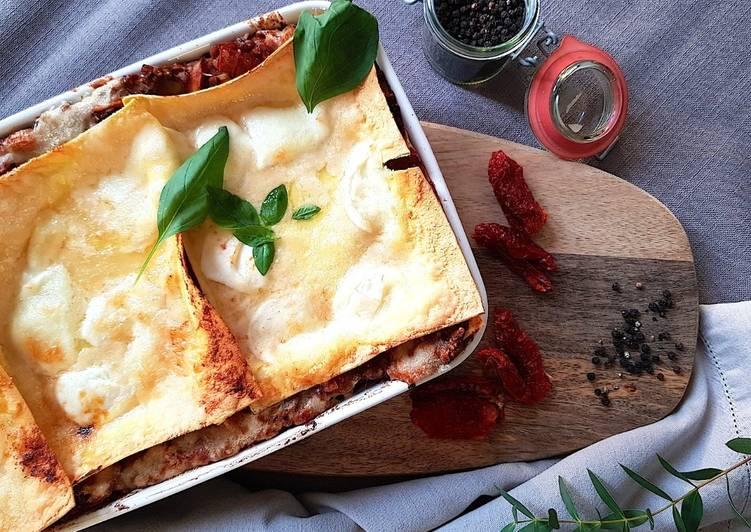 La Meilleur Recette De Lasagnes végétariennes aux champignons et aux poireaux