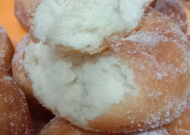 Resepi:  Donut Gebuzgebaz  Enak