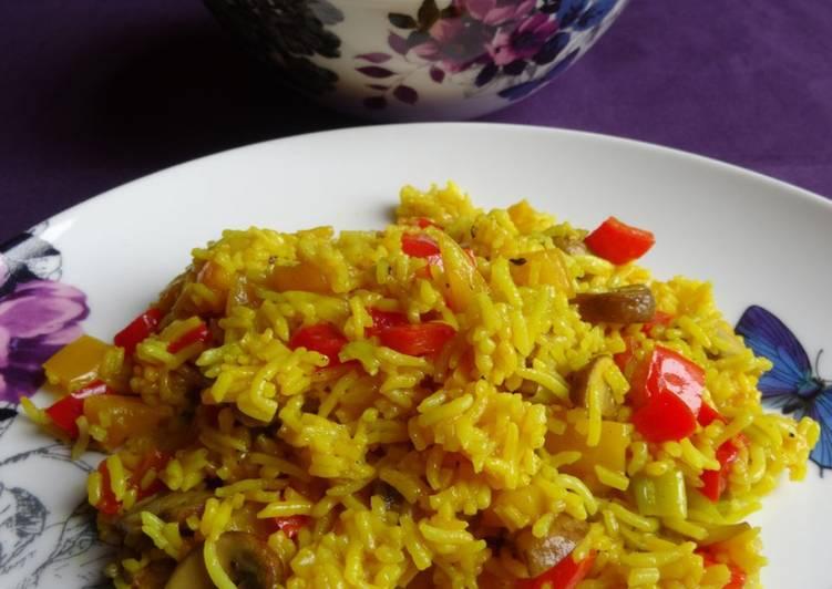 Recipe of Homemade Savoury Rice