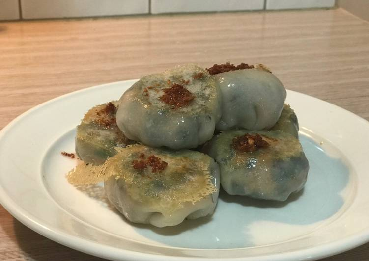 Pan fried gluten free dumplings