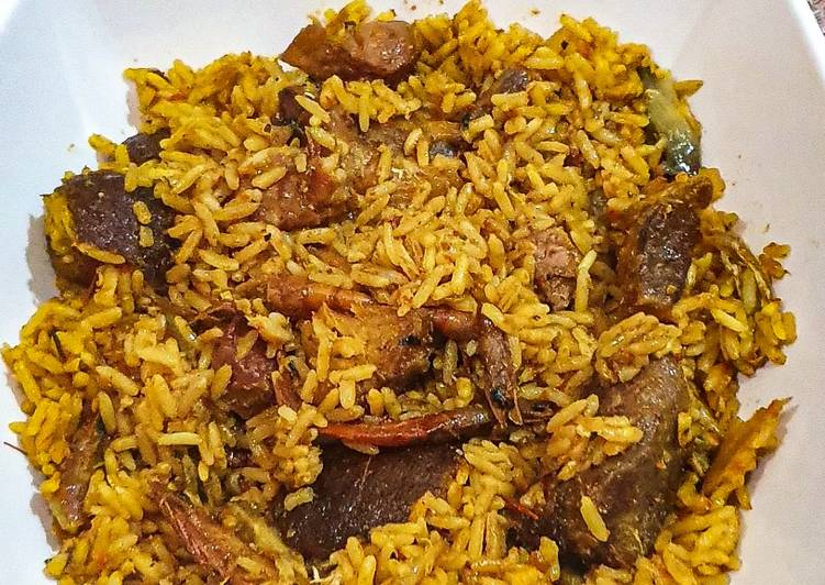 Native fried rice