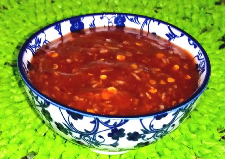 Simple Way to Prepare Ultimate Chilli garlic dip