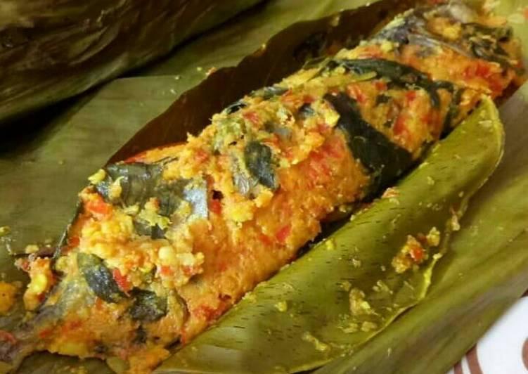Pepes ikan kembung