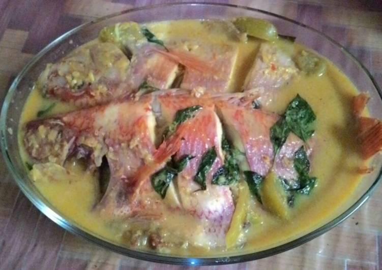 Resep Ikan nila with kemanggi kuah kuning, Lezat Sekali