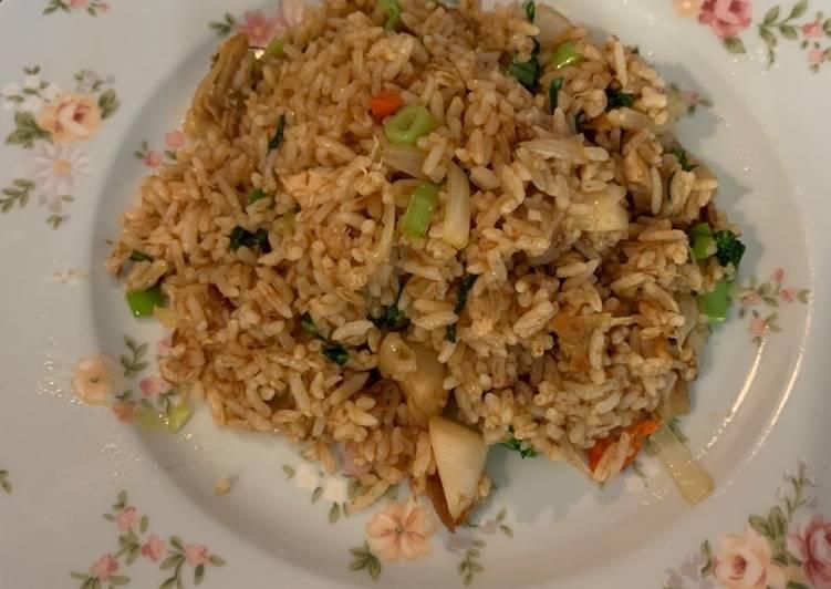 Resep Nasi Goreng Tuna  Anti Gagal