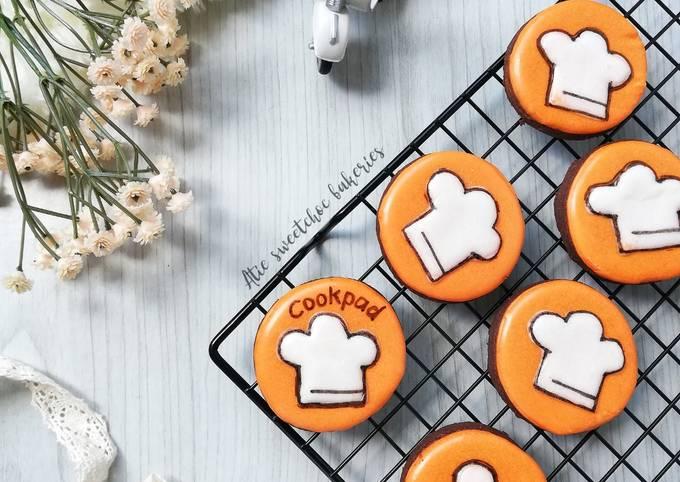 Chocolate Cookies Cookpad (marathon ramadan #cookies)