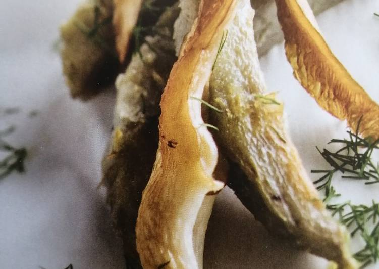 Artichauts et Pleurotes sautés