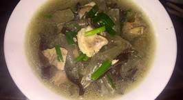 Hình ảnh món Miến nấu thịt gà (miến nấu lòng gà)