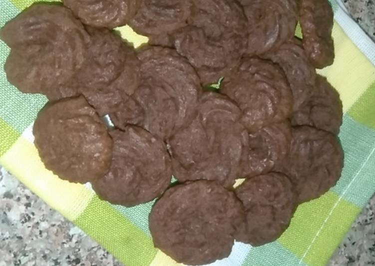 Know-how to Assemble Divine Chocolate butter cookies without oven