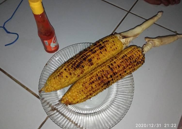 Jagung bakar pedas