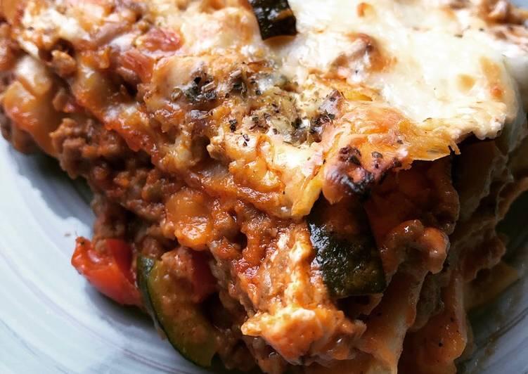 Easiest Way to Make Delicious Gemüse-Hackfleisch-Lasagne