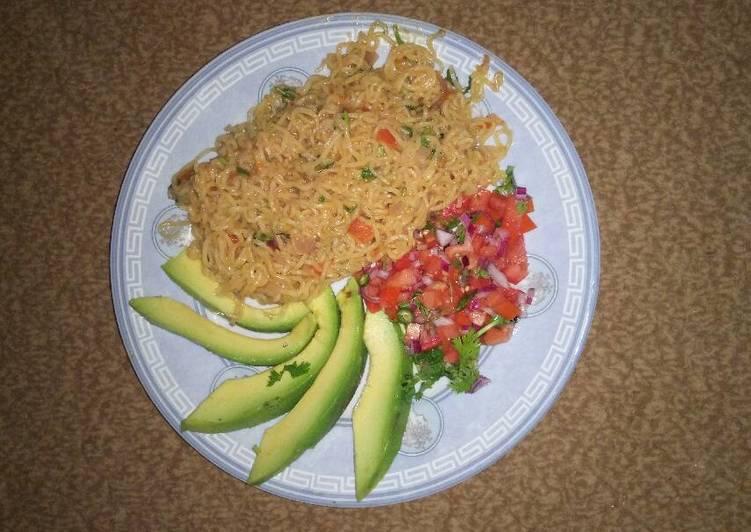 Kachumbari Noodles