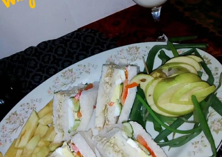 Healthy Club Sandwich