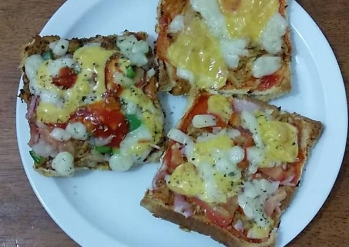 Bread tikka pizza# Ramadan iftar contest# cookpad