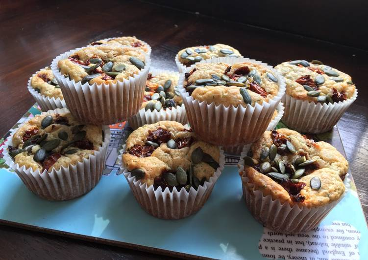 Feta and Dill muffins - Laurie G Edwards