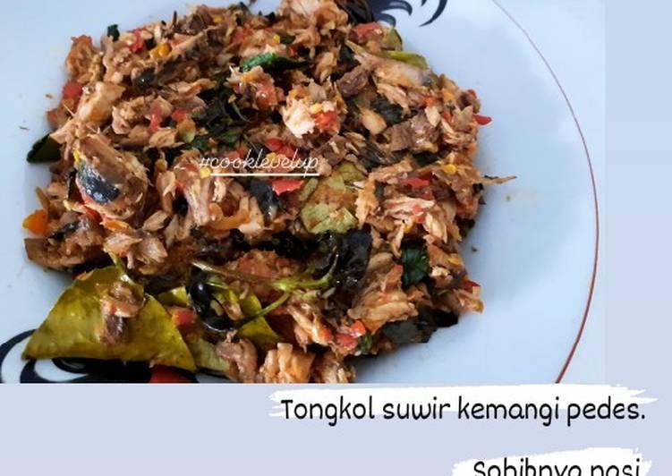Tongkol suwir kemangi pedes - cookandrecipe.com