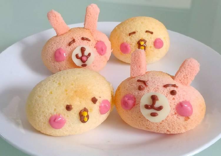 Eggshell chiffon cake