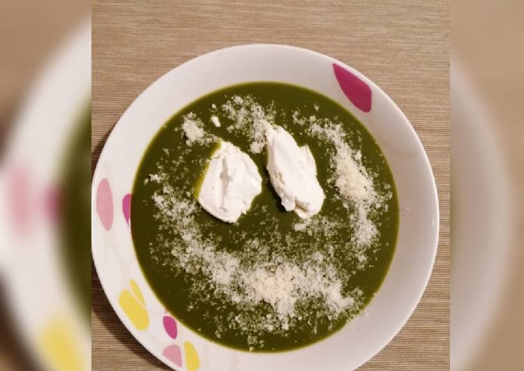 Ricetta Vellutata di spinaci