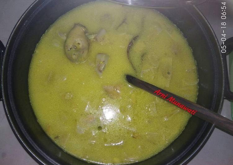 Cara Membuat Instan Opor Nangka Ayam Sedikit Murah