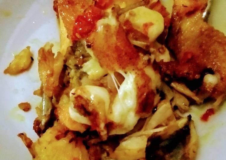Ayam geprek mozarela (DEBM)