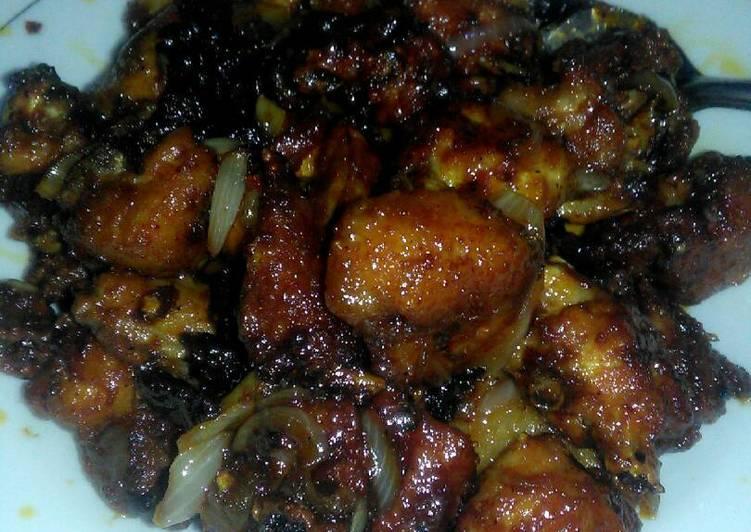 Ayam oriental lada hitam