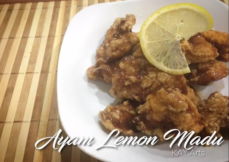 Ayam Lemon Madu - velavinkabakery.com