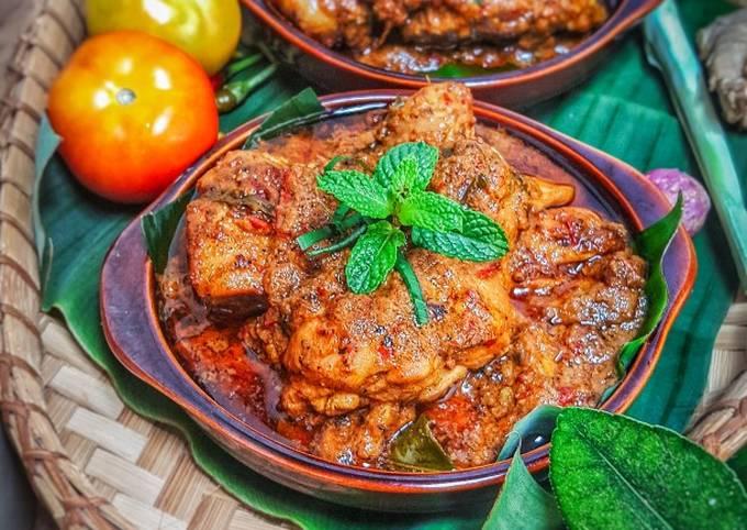 Rendang Ayam Minang (maraton ramadan)