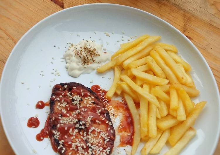 Resep Grilled Gindara Steak Oleh Farhah Cookpad