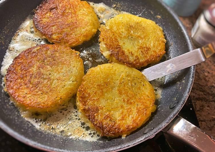 Recipe of Homemade Potato Rosti