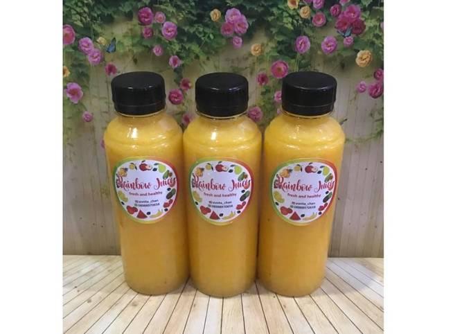 Diet Juice Pumpkin Banana Apple Orange Lemon