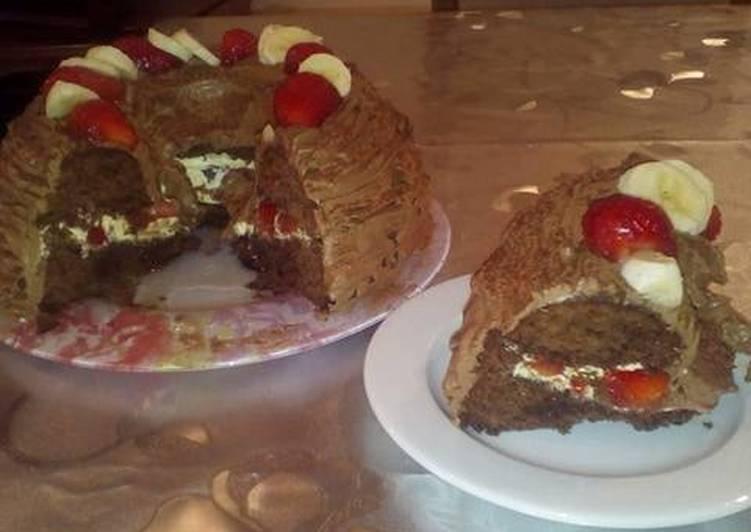 Recette Des Tarte cacao et fruits