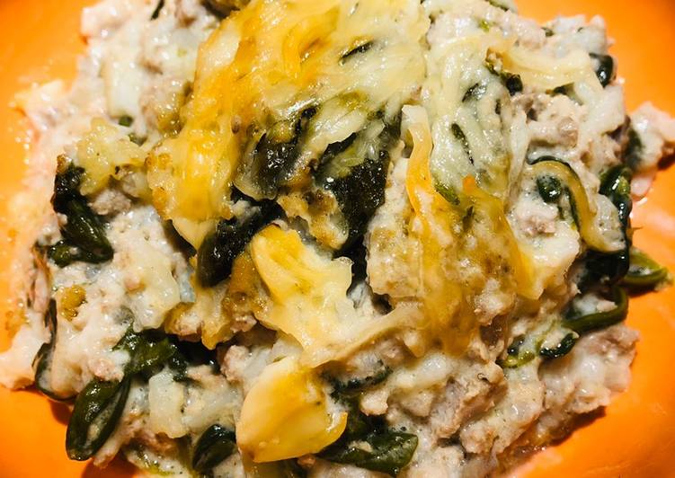 How to Prepare Appetizing Turkey 🦃 Spinach Casserole 🥘