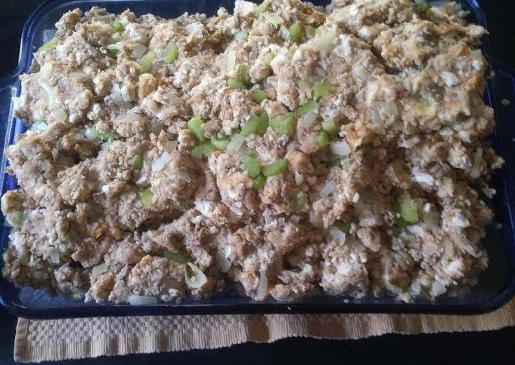 How to Prepare Ultimate Stuffing aka filling