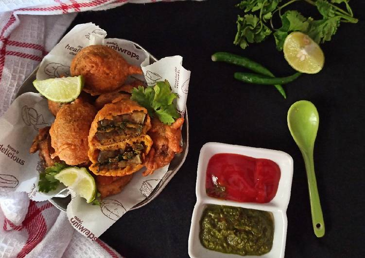 Recipe of Any-night-of-the-week Brinjal fritters