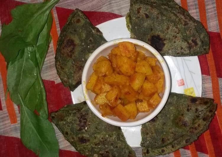 How to Prepare Award-winning Spinach paratha